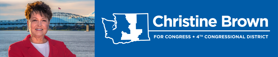 Christine Brown for Congress - 4th District Washington State